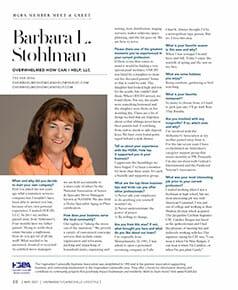 Barbara Stohlman Featured in Haymarket / Gainesville Lifestyle Magazine